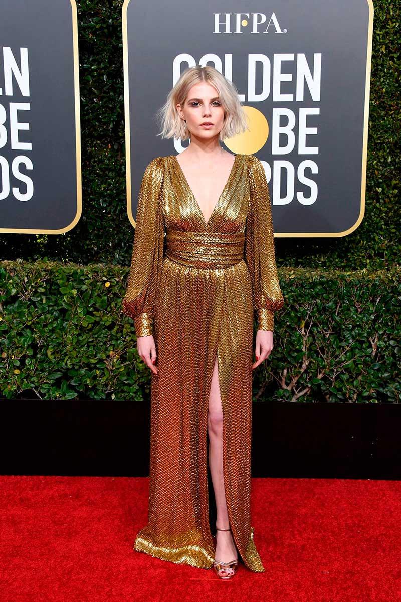 Lucy Boynton Golden Globes