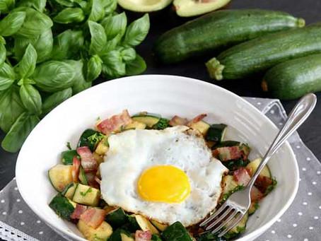 Zucchini Breakfast Hash