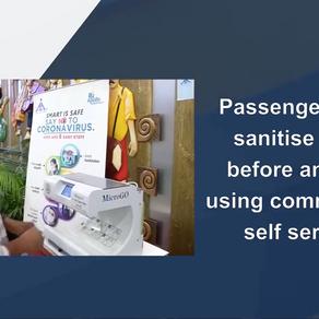 GOassureTM contribution to Passengers Hand Hygiene at Airports.