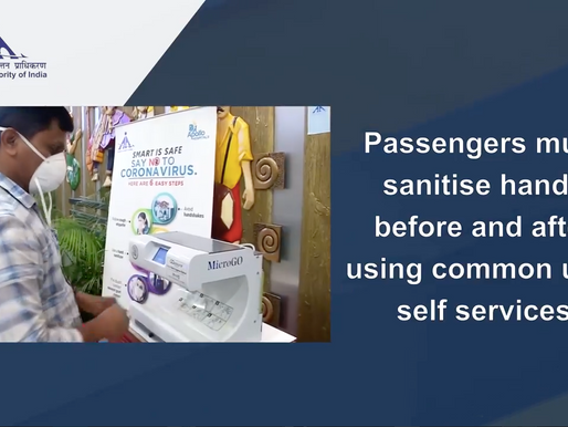 GOassureTM contribution to Passengers Hand Hygiene at Airports.