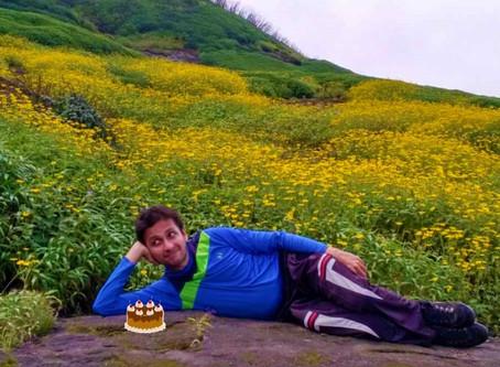 Birthday and Sahyadris