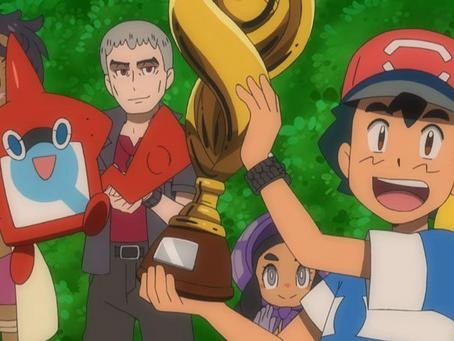 Ash Has Won a Pokemon League?
