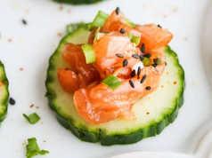 Salmon Tartare Bites