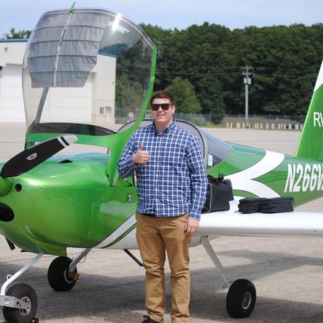 Checkride PASSED! Private Pilot Doug M.