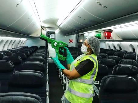 O retorno das viagens aéreas