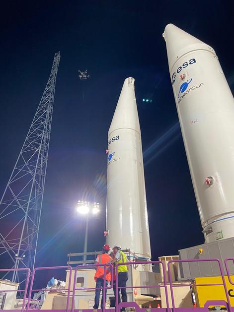 Mesure d'intensité lumineuse - Ariane 6