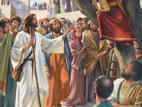 Zacchaeus Meets Jesus : Luke 19:1-10