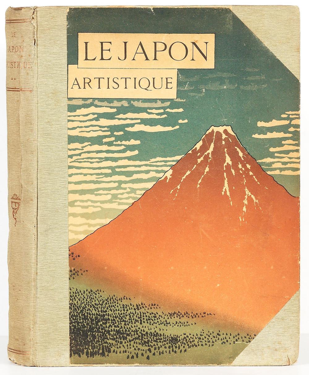 Siegfried Bing (1838–1905). Le Japon artistique: Documents d'art et d'industrie. Premier [–troisième] volume. Paris: Librairie Centrale des Beaux-Arts, 1888–1891.