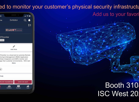 Visit us at ISC WEst 2020, Booth# 31088
