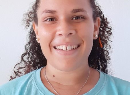 Amaëlle Quiniou, éducatrice sportive de la commune