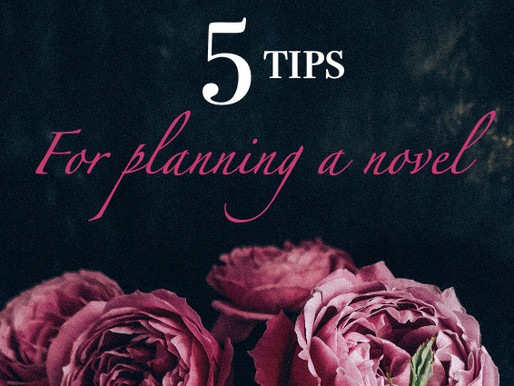 Top 5 tips for planning a novel