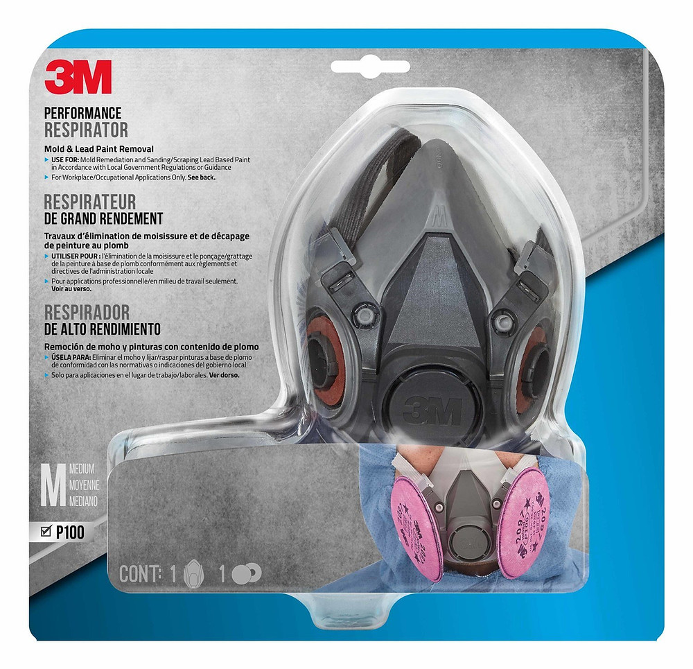 respirator mask dust silica safety review