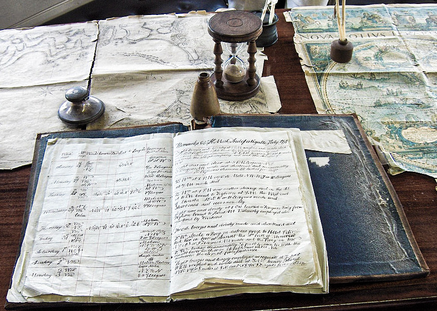 The information about how many knots per hour was written in the LOGBOOK. The captain looked in the book. The log told him how many kilometers he had sailed and in which direction. This information could be drawn on a map and so he could follow the ship's progress and guide it to it's intended destination.The term logbook  has been widened and is used in many fields and the term 'log' has also entered software world.      In software, logs are written and collected. For example, to find out the app's situation - the logs enable the programmer to understand where the issues is in the code are.      Just as a logbook on a boat helps the captain to know the ship's position in the  sea, so do the logs in software help the programmer understand  the users app situation. What happened during the use of the app, what problems the user encountered etc.