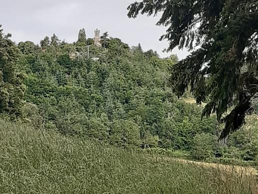 Parcours 13 - Bleu - Circuit de Notre Dame de la Roche - 11 km - 420 m de dénivelé.