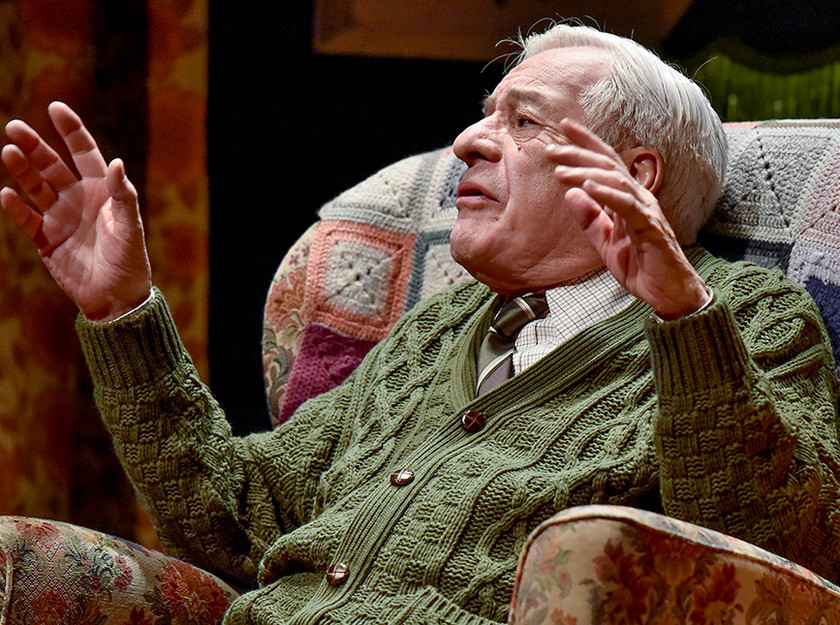 Kenneth Alan Taylor as Leslie in A Different Way Home