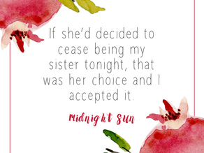 Newest quote from Midnight Sun!