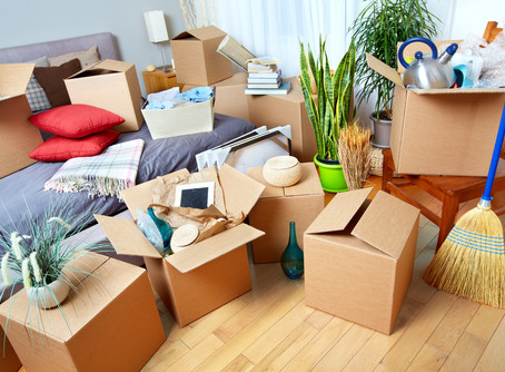 How to declutter your home in preparation for sale!