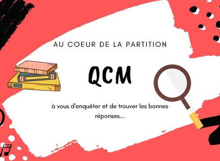 En avant pour un nouveau QCM!
