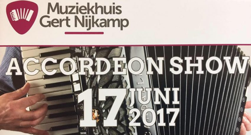Accordeon Show 2017 Muziekhuis Gert Nijkamp