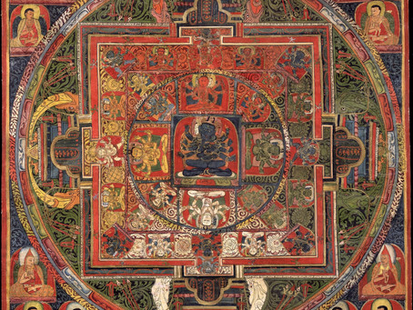 Why is it significant to look at Daoist and Buddhist five-element paradigms together?