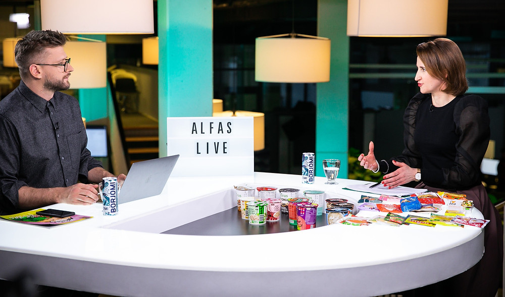ALfas live, Raminta Bogušienė
