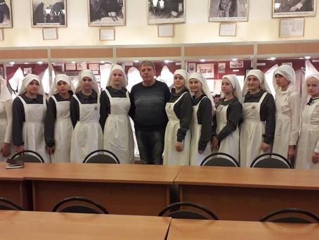 Дружина сестёр милосердия в Свято-Димитриевском училище!