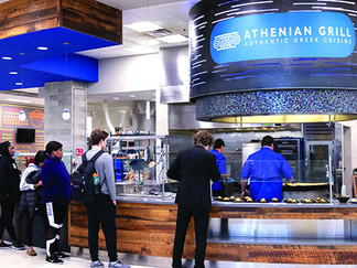 Not Your Traditional College Dining: Athenian Grill Serving Dynamic Flavor
