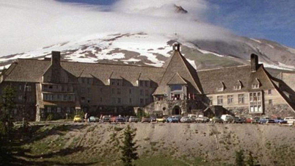 Timberline Lodge from the from the classic Stephen King adaptation 'The Shining""