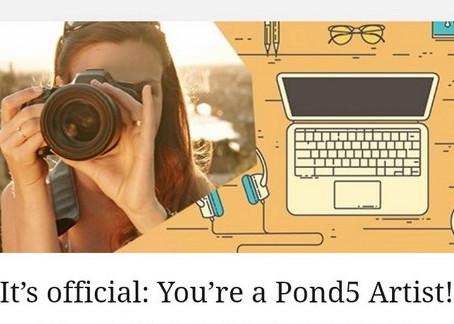 Как зарегистрироваться на Pond5