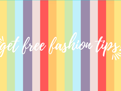 SIGN ME UP! : Receive FREE Fashion Tips From Jade Herself