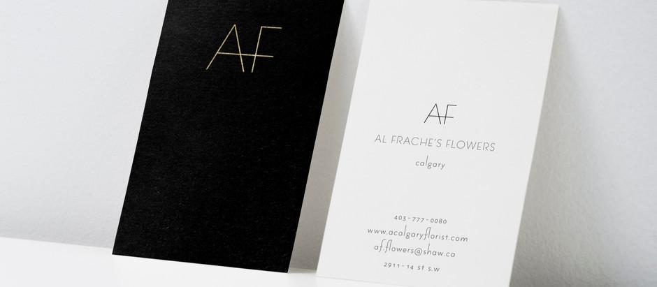 Minimalist Flower Shop Branding