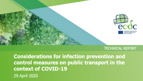 Considerations for infection prevention and control measures on p. t in the context of COVID-19