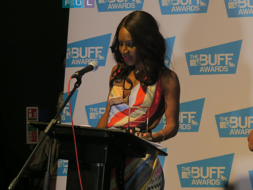 Amma Asante receives the BUFF Honorary Award - The British Urban Film Festival Awards: 2018