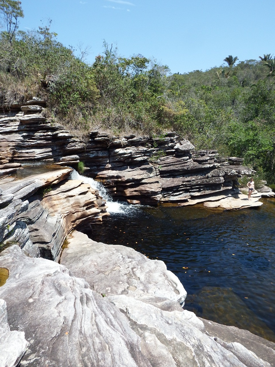 Cachoeira do Intancado em Cabeça de Boi