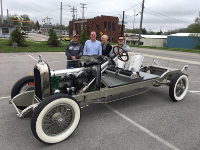 1926 DUESENBERG CHASSIS DONATED TO ACD MUSEUM