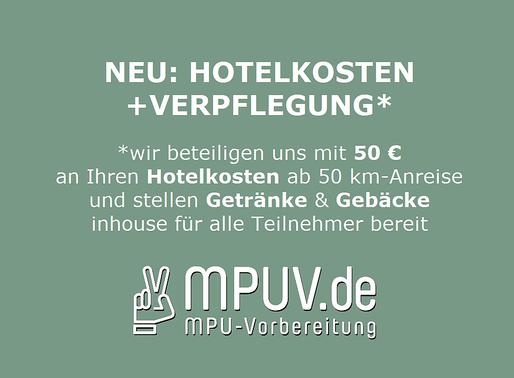 NEU: HOTELKOSTEN +VERPFLEGUNG*