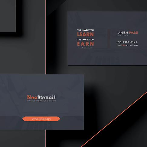 Designing NeoStencil Stationery