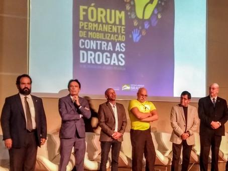 Instituído o Fórum Permanente de Mobilização Contra às Drogas no Brasil
