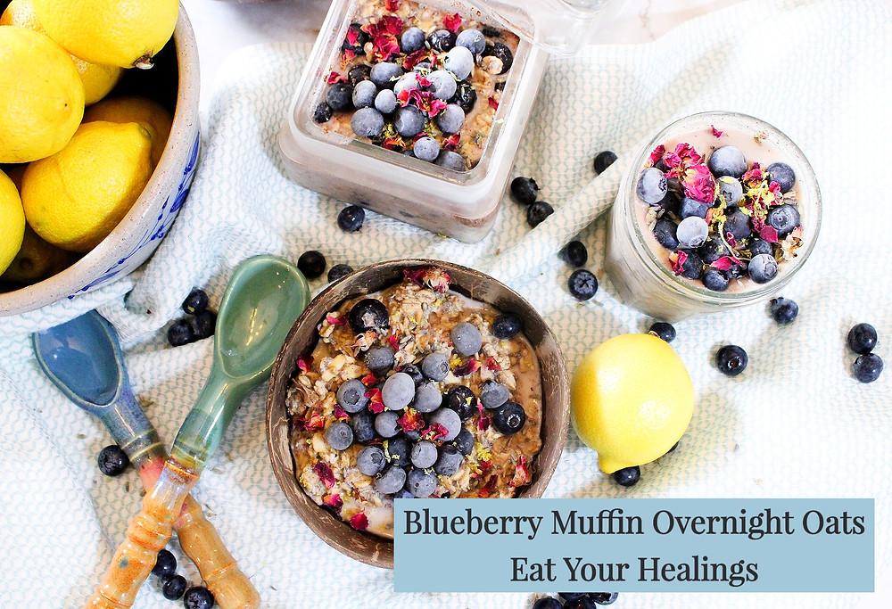 blueberry muffin overnight oats