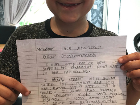 Excellent letter writing