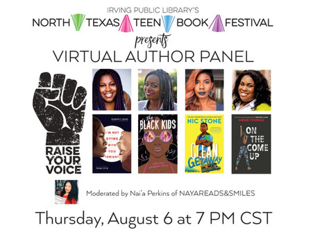 Tomorrow, August 6: Teen Virtual Author Panel!