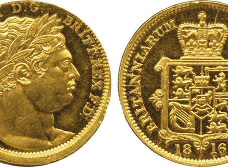 The World's rarest Gold Sovereigns Part 1: George III-William IV