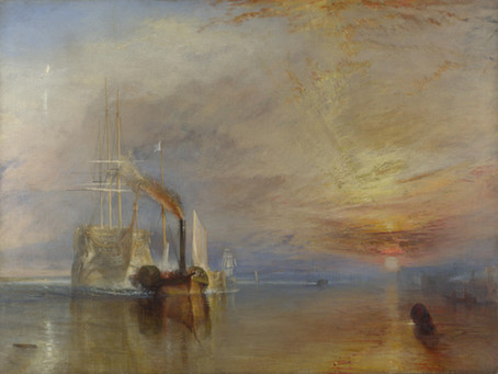 The Fighting Temeraire (1839) by JMW Turner