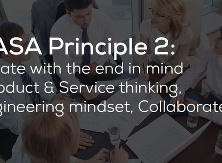 Create with the End in Mind - DevOps Principle #2