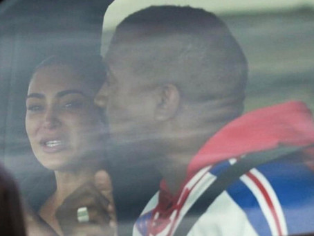 Kim Kardashian SPOTTED Crying While Visiting Kanye West's Ranch