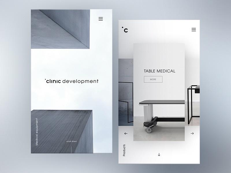 Website Clinic development