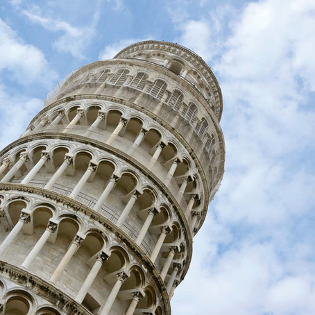 The leaning tower of Pisa rankings
