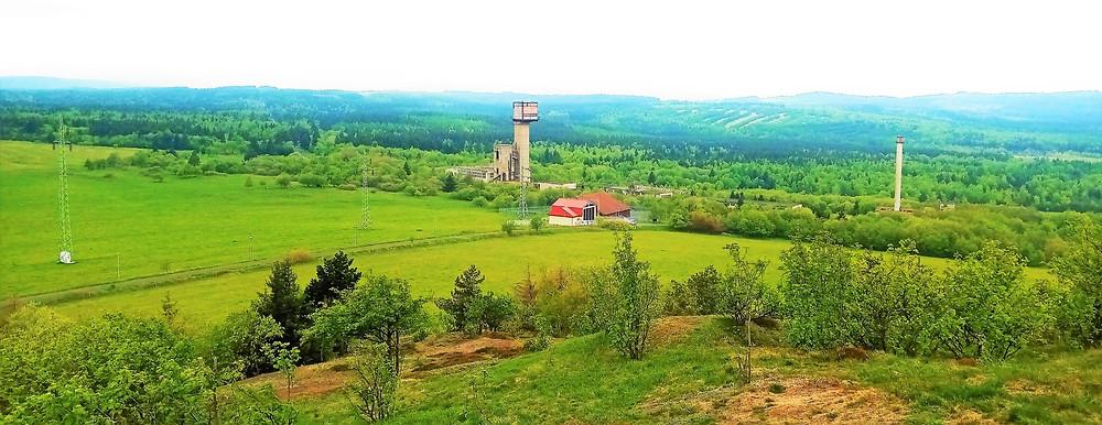 Železnorudný důl Měděnec byl uzavřen v roce 1992