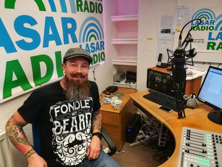 Matt goes live on Lasar Radio