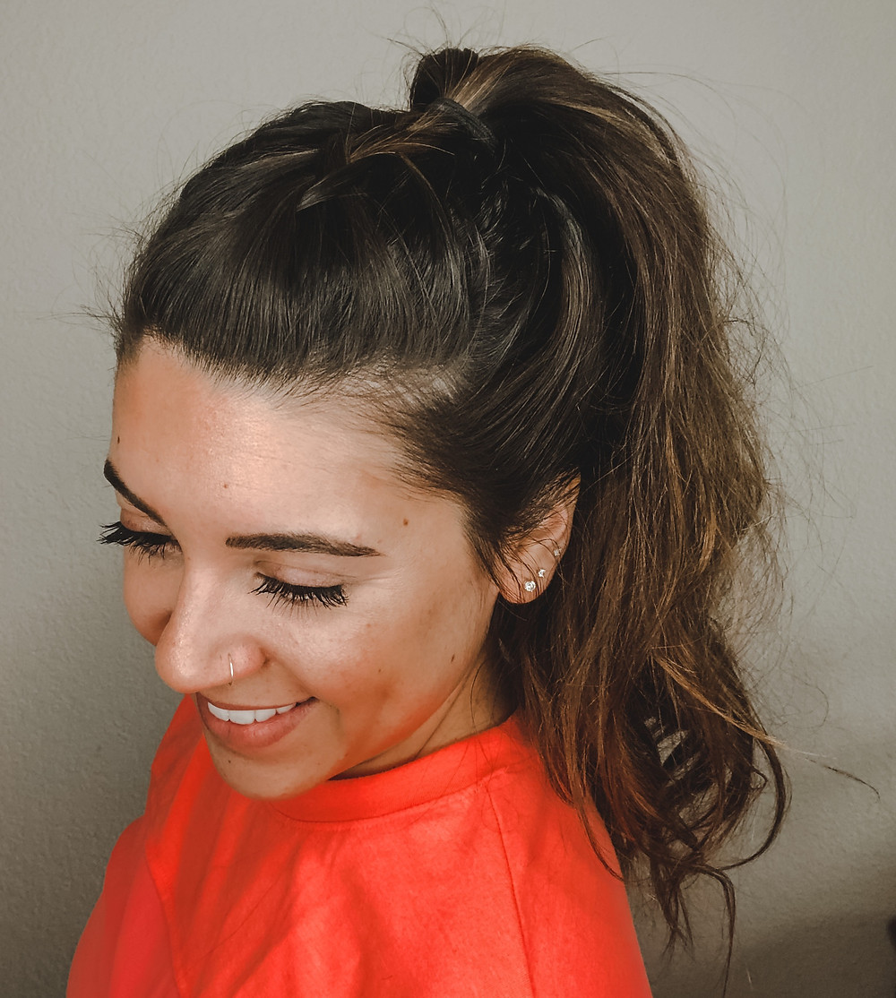 Workout Hairstyle